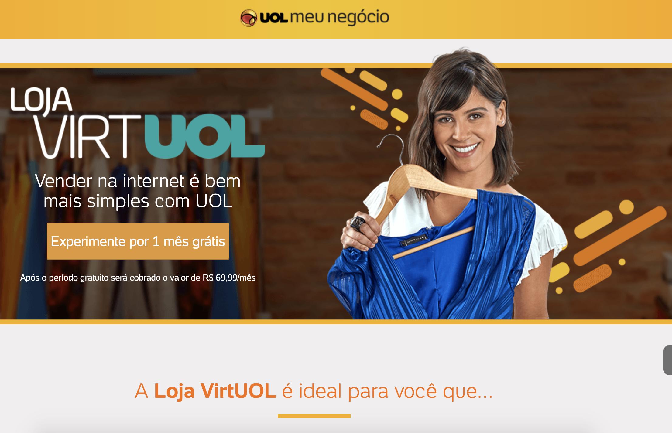 loja virtual uol